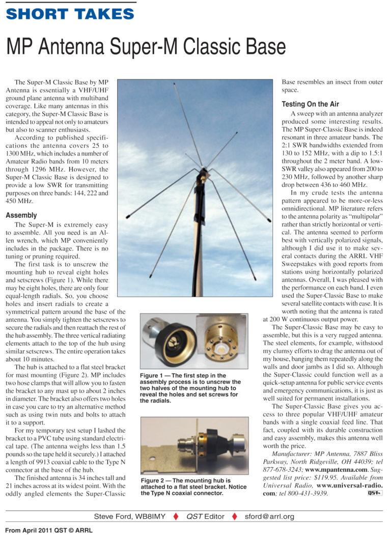 Super-M Classic Base Station Antenna